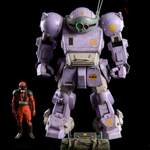 (예약마감) Armored Trooper Votoms Scopedog ' Melquiya color' & Parachute Sack / 3Z0086