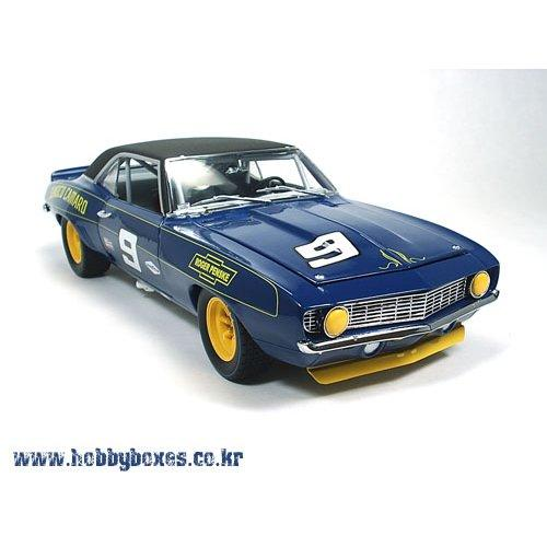 1969 Camaro vinyl top -Team Sunoco #9