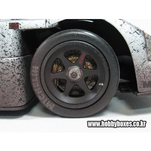 Sauber Mercedes- C9  #63 + rolling spare chassis+weathering version