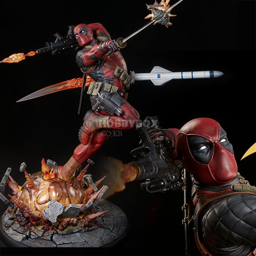 (예약마감) 데드풀(Deadpool) Heat-Seeker Premium Format Figure / Marvel