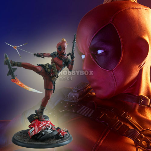(예약마감) 레이디 데드풀(Lady Deadpool) Premium Format Figure