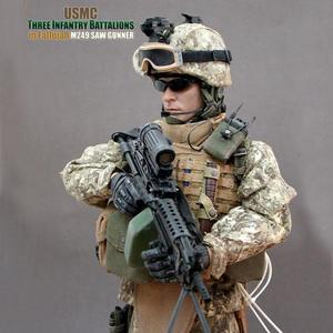 (입고) USMC Three Infantry Battalions in 팔루자 / M249 SAW gunner