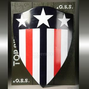 Captain America Shield Prop Replica -1940년대 버전