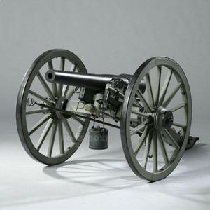 U.S. 3-inch Parrott Rifle - Civil War Cannon - 12인치 피규어용
